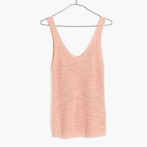 Madewell Monterey Sweater Tank size S